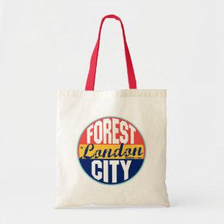 London Vintage Label Tote Bag
