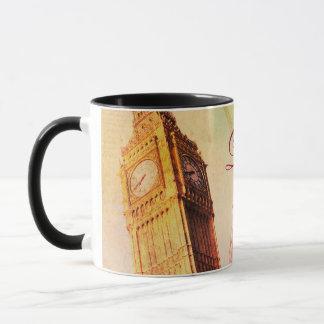 London vintage mug