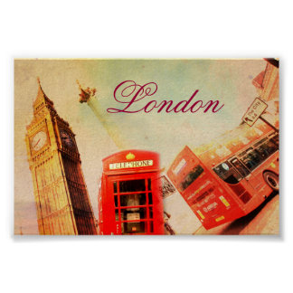 London vintage posters