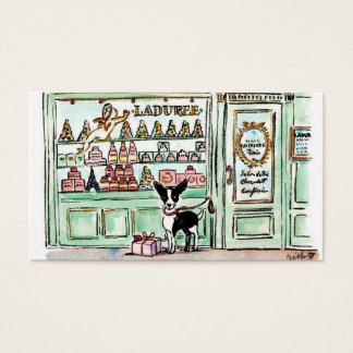 London visits Paris Patisserie Business Card
