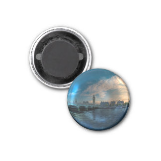 London Westminster Cityscape Photo Ball Magnet
