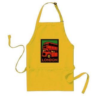 london westminster england art deco retro poster standard apron