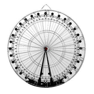 London Wheel Silhouette Dartboard
