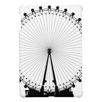 London Wheel Silhouette iPad Mini Covers