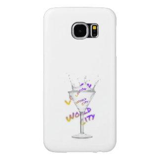 London world city, water Glass Samsung Galaxy S6 Cases