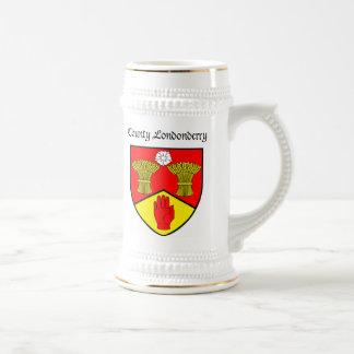 Londonderry Beer Stein Coffee Mugs