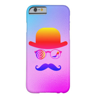 Londoner Wolf Womanizer Mustaches Rainbow Barely There iPhone 6 Case