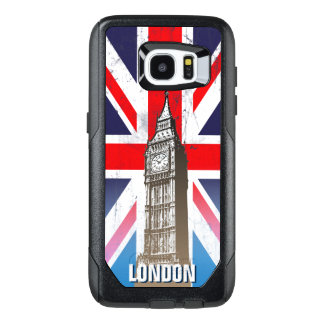 London's Big Ben Over Union Jack