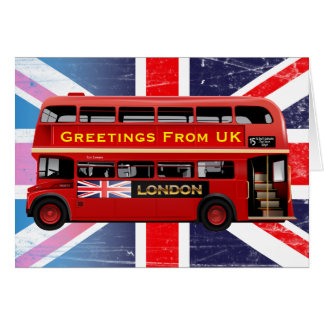 London's Famous Red Bus Card