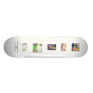 Londons Times Cartoons On Quality Skateboard