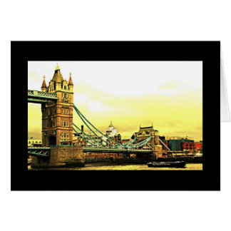 London's Tower Bridge Greeting Card