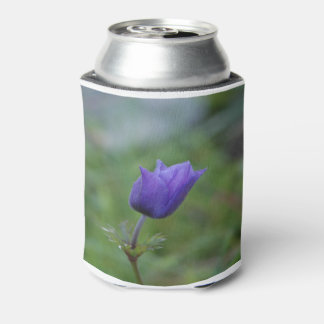 Lone Blue-Purple Anemone Can Cooler
