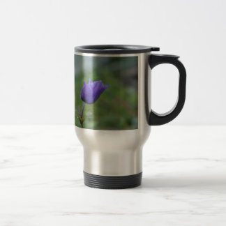 Lone Blue-Purple Anemone Travel Mug