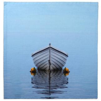 Lone Boat Napkin