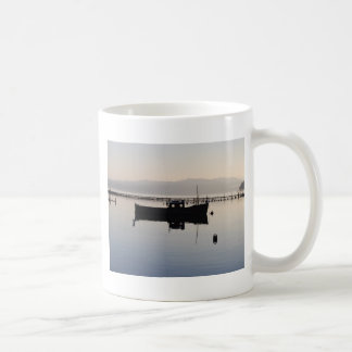 Lone Boat on the Loch Mugs