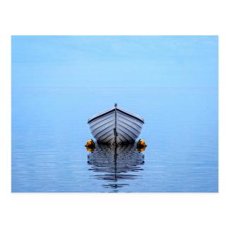Lone Boat Postcard