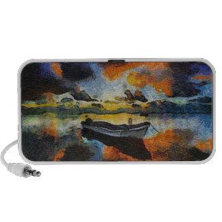 Lone Boat iPhone Speaker
