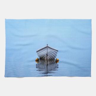 Lone Boat Tea Towel