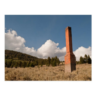 Lone Chimney Postcard