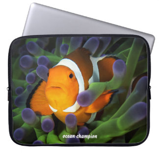 Lone Clownfish Laptop Computer Sleeves