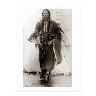 Lone Comanche Postcard