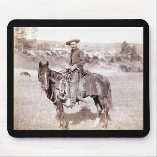 Lone Cowboy Mouse Pad