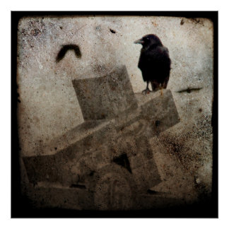 Lone Crow Posters