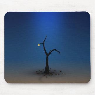 Lone Digital Tree Mouse Pad
