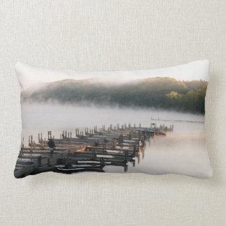 lone fisherman lumbar pillow