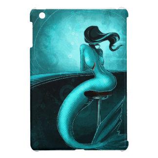 Lone Mermaid iPad Mini Cases
