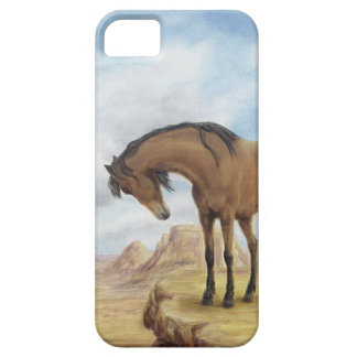 Lone Mustang iPhone 5 Case