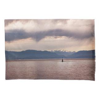Lone Ocean Buoy Pillow Case