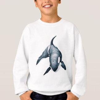 Lone Orca Whale Sweatshirt