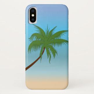 Lone Palm iPhone X Case