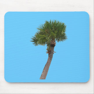 Lone Palm Tree Mouse Pad
