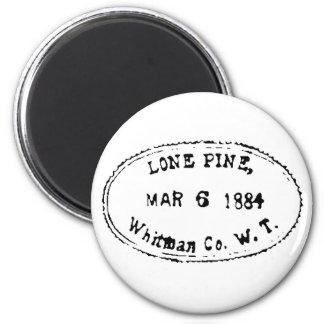 Lone Pine Ghostmark 6 Cm Round Magnet
