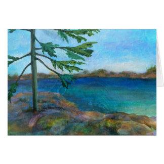 Lone Pine Landscape Art Card