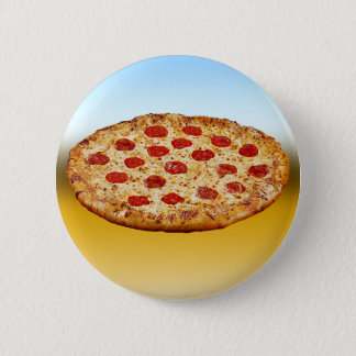 Lone Pizza - multi products 6 Cm Round Badge