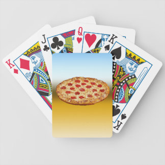 Lone Pizza - multi products Bicycle Playing Cards