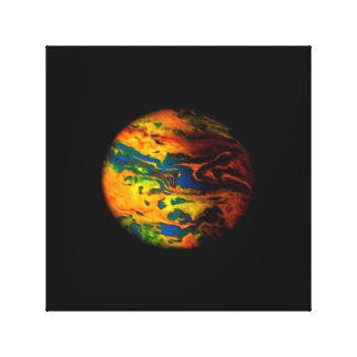 Lone Planet Canvas Print