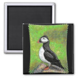 LONE PUFFIN - enhanced version magnet