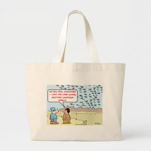 lone ranger campaign speech canvas bags