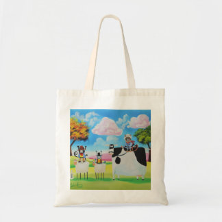 Lone ranger cats and sheep painting