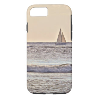 LONE SAILBOAT AT SEA iPhone 8/7 CASE
