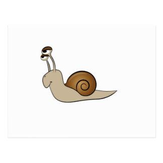 lone snail yeah postcard