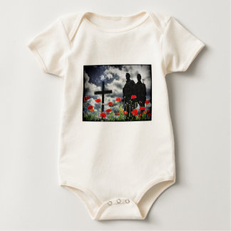 Lone Soldiers WW1 Baby Bodysuit