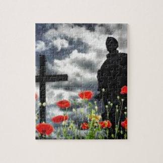 Lone Soldiers WW1 Jigsaw Puzzle