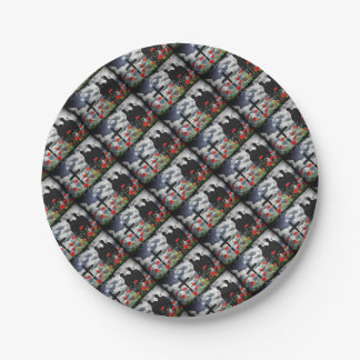 Lone Soldiers WW1 Paper Plate