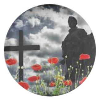 Lone Soldiers WW1 Plate