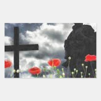 Lone Soldiers WW1 Rectangular Sticker